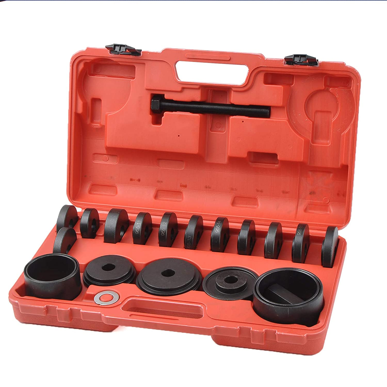 DA YUAN 23pcs FWD Front Wheel Drive Bearing Puller Removal Hub Removal Bearing Installer Installation Tool Kit