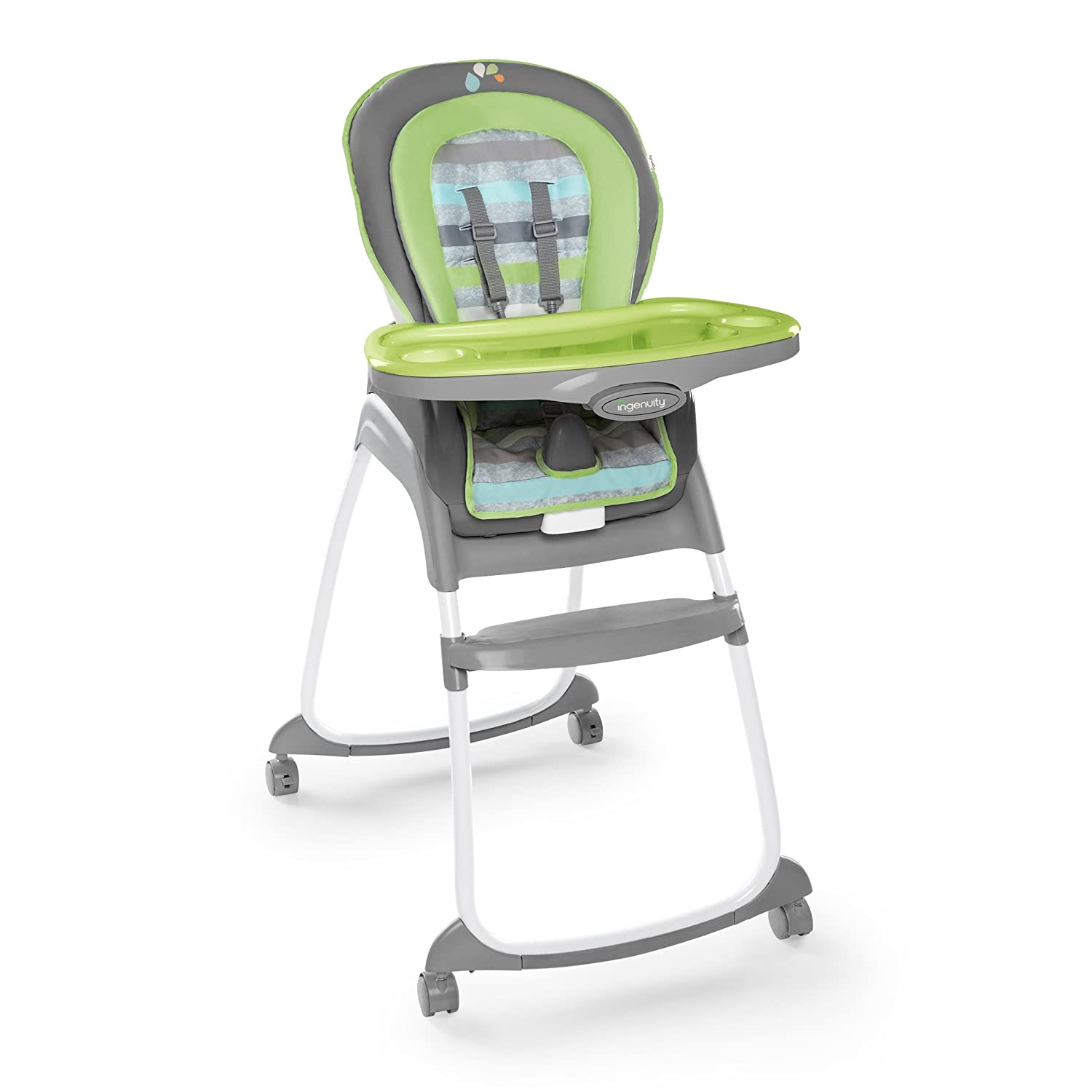7d69ac10a2ba Amazon.com   Ingenuity Trio 3-in-1 High Chair - Vesper 4-Wheel - High Chair