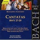 Edition Bachakademie Vol. 9 (Geistliche Kantaten BWV 27-29)