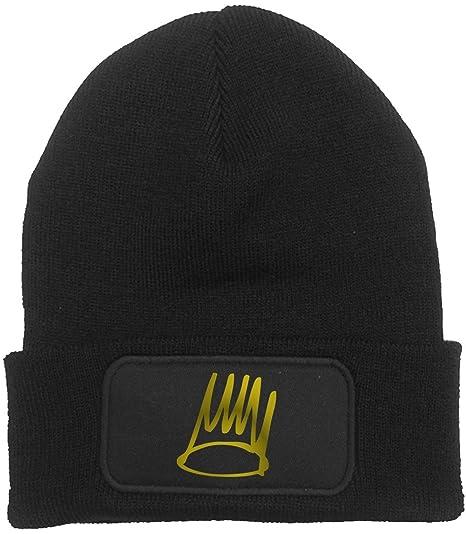 b1cc336d354f9 Dibbs Clothing Men s J Cole Beanie Born Sinner Hat Forest Hills Beanie Hat  One Size Black at Amazon Men s Clothing store