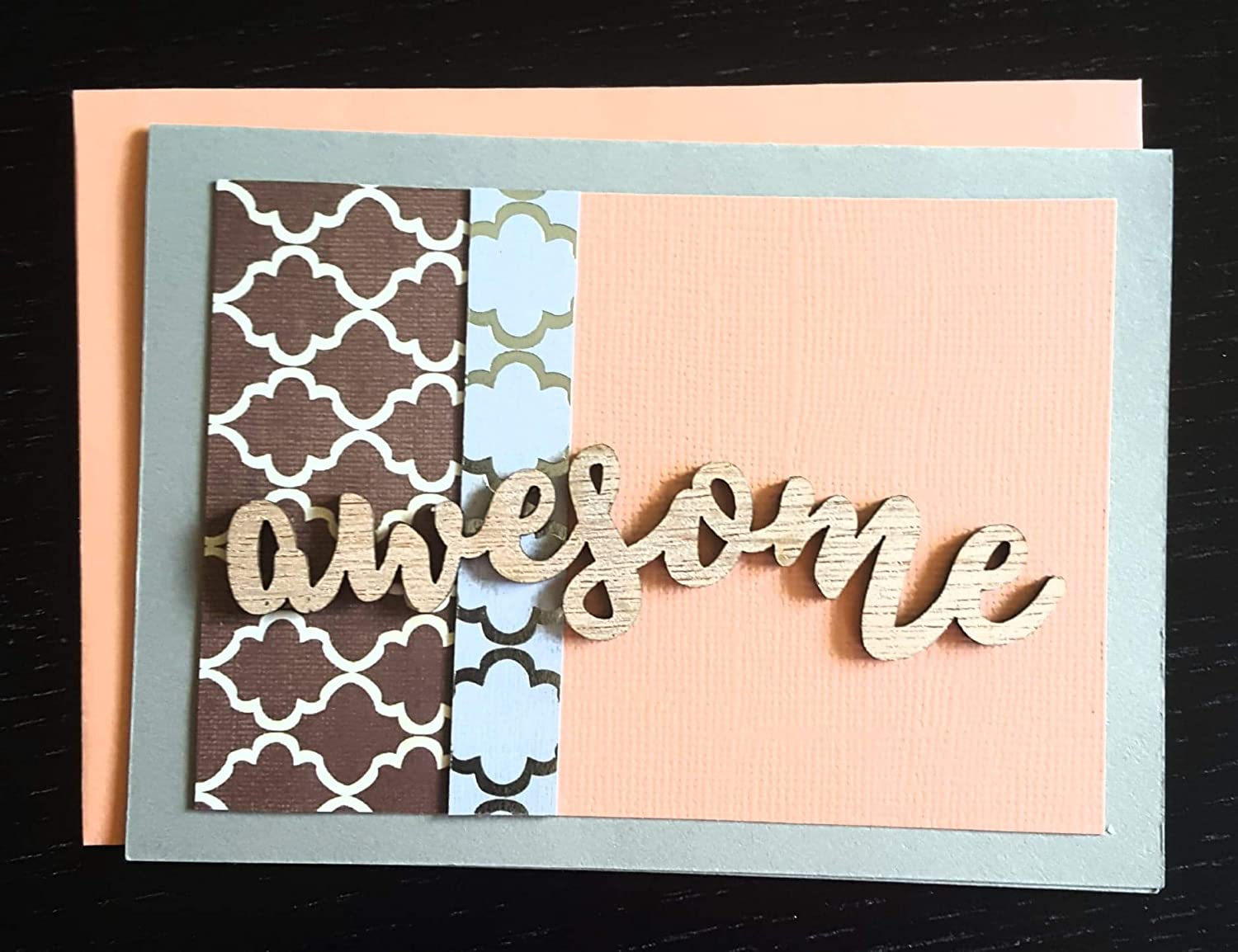 Greeting Card AWESOME