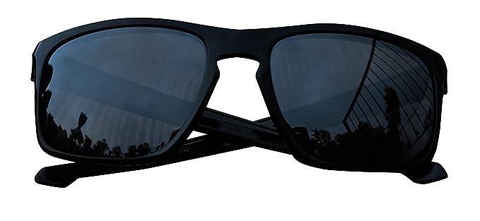 MZM Lentes Polarizadas de Recambio para Oakley Enduro (Black Iridium)