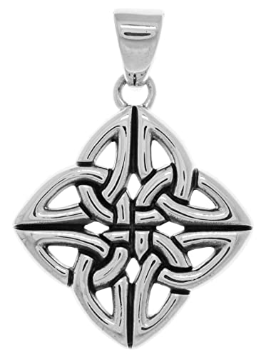 Amazon jewelry trends sterling silver four corner celtic jewelry trends sterling silver four corner celtic trinity knot pendant aloadofball Images
