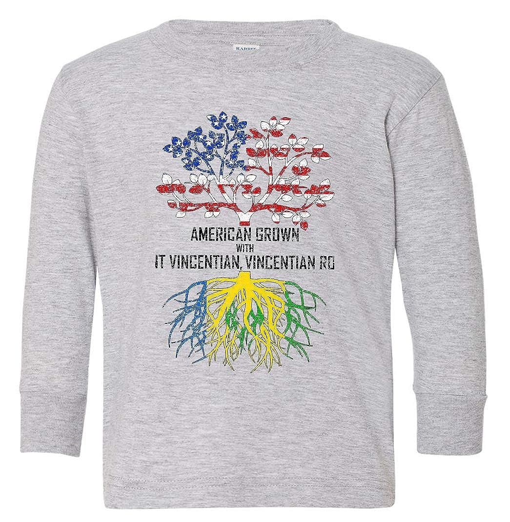 Tenacitee Babys American Grown with Saint Vincentian Roots Shirt