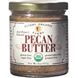 Guidry Organic Farms USDA Certified Organic Pecan Butter, Handmade Small Batches, Keto Friendly, Gluten Free, All Natural, made of Organic Pecans, and Sea Salt , no other additives!