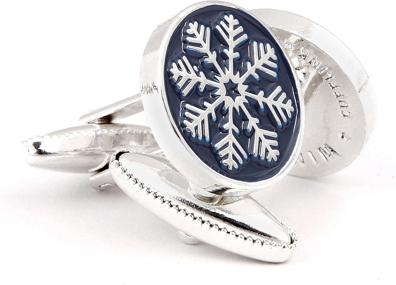 The Snowflake Cufflink