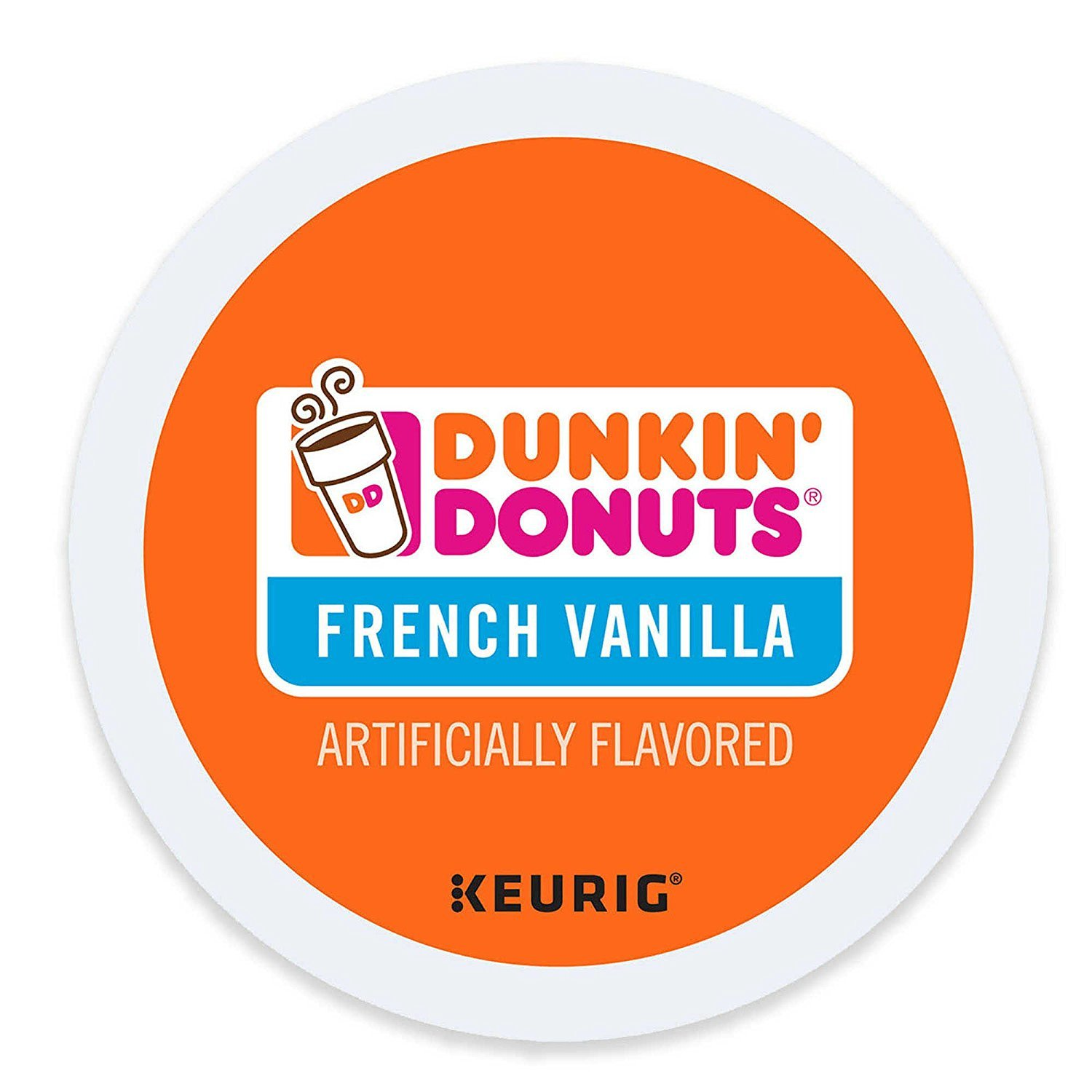 Dunkin' Donuts French Vanilla Coffee K-Cups (48 Count)