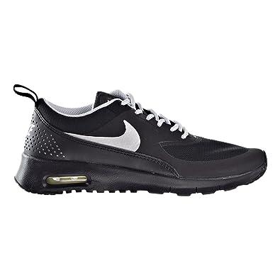 finest selection 5d6a1 448a8 NIKE Air Max Thea Big Kid s (GS) Shoe Black Metallic Platinium 814444-