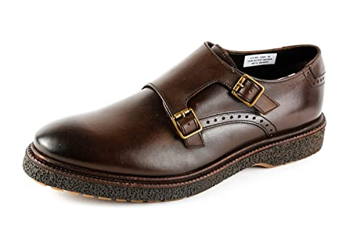 Base London BL6-050 - Mocasines de Piel Lisa para Hombre Marrón marrón, Color Marrón, Talla 42 EU: Amazon.es: Zapatos y complementos