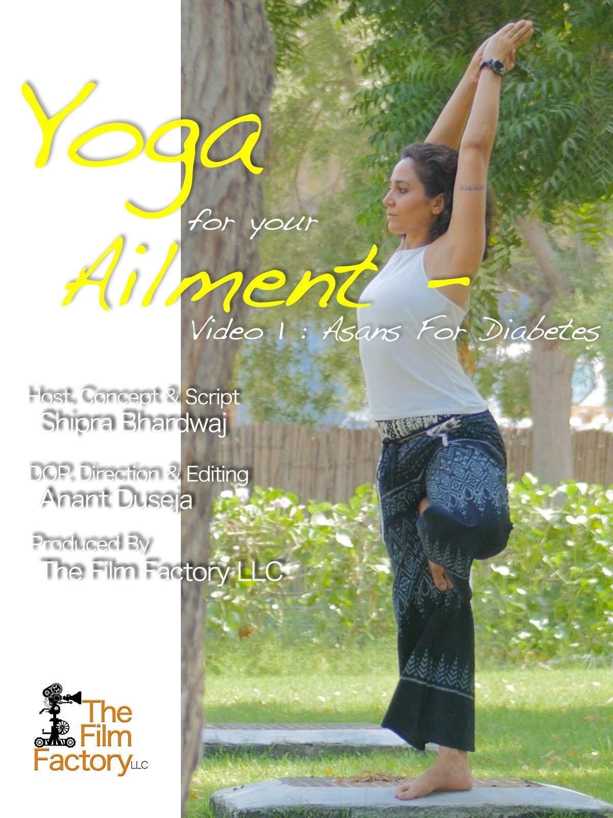 Amazon.com: Watch Yoga For Your Ailment - Video 1 : Asans ...