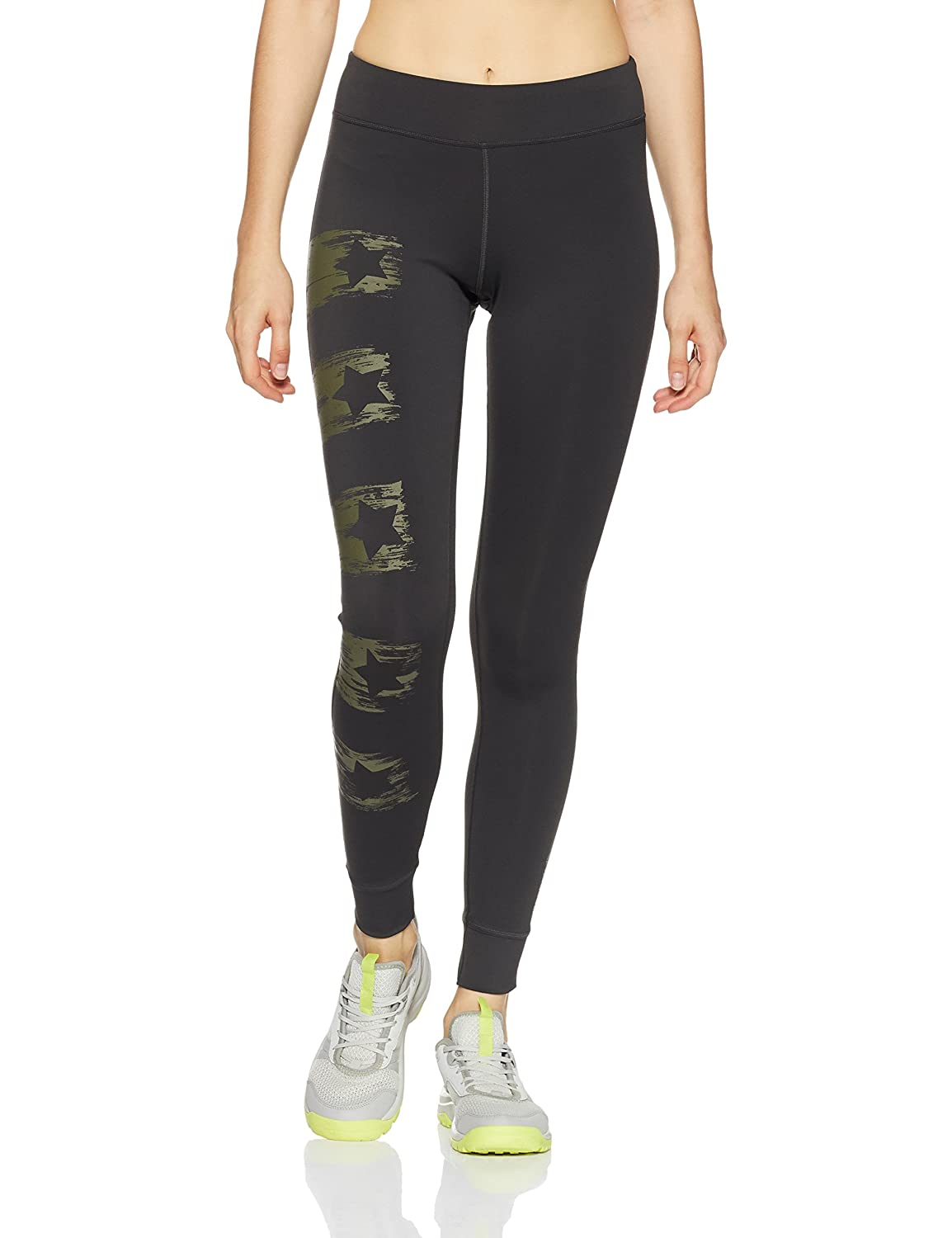Reebok Damen Trainingshose Yoga Painted Tights
