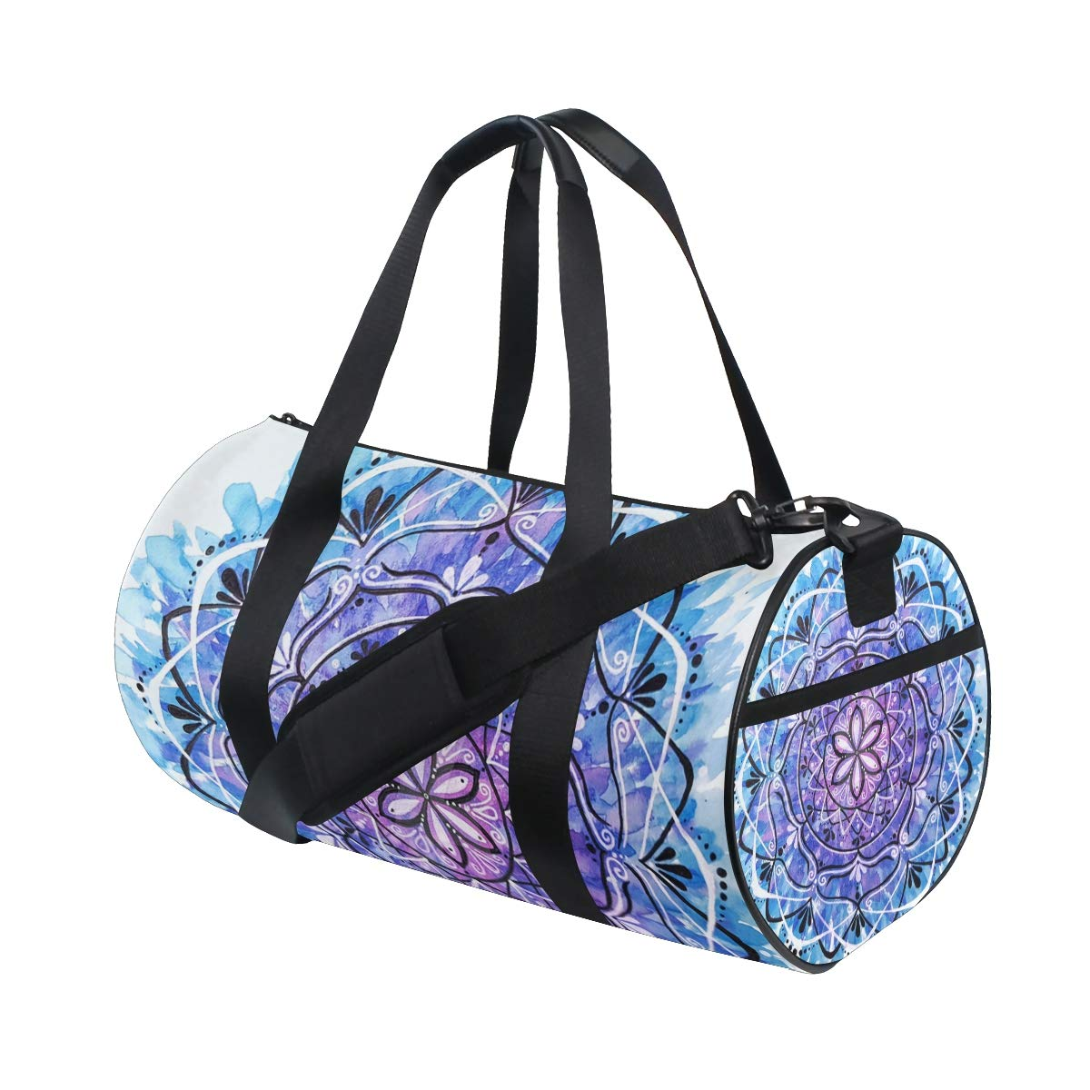 OuLian Duffel Bags Flying American Flag Womens Gym Yoga Bag Small Fun Sports Bag for Men