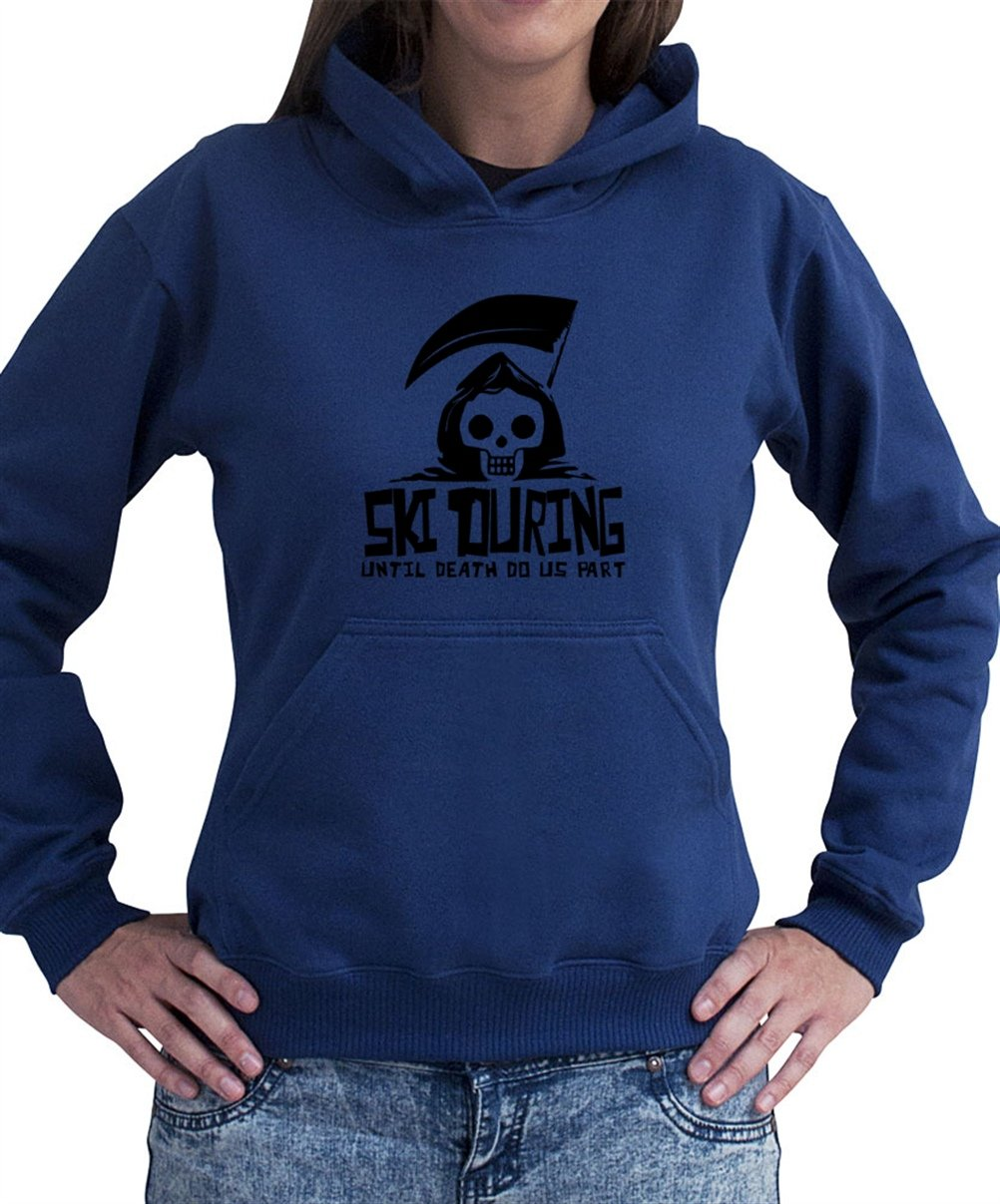 Ski Touring UNTIL DEATH SEPARATE US Women Dame Hoodie