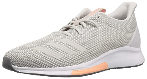 31df5d2b7bd1 Adidas Women s Puremotion Grey Two One Clear Orange Ankle-High Running Shoe  - 9.5