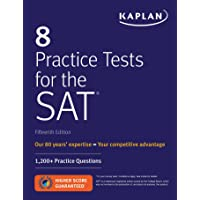 Kaplan 8 Practice Tests for the SAT : 1,200+ Practice questions