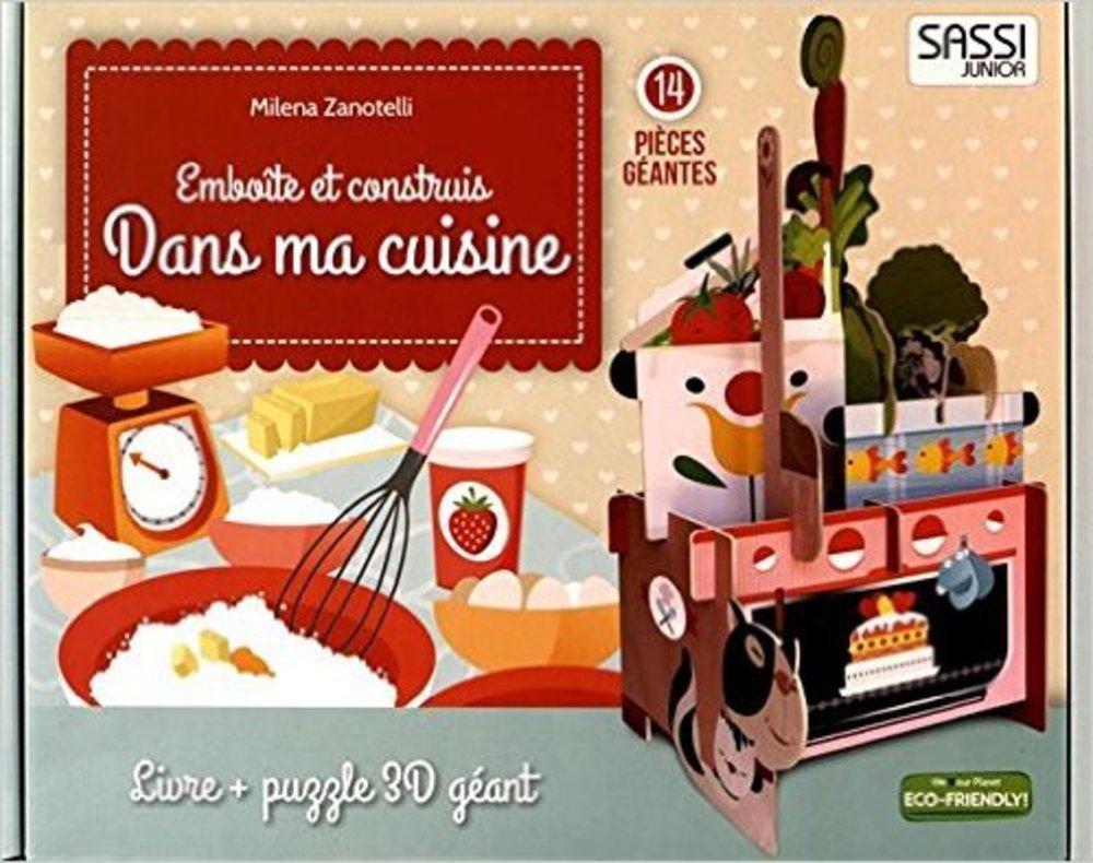 Emboite Et Construit Dans Ma Cuisine Livre Plus Puzzle 3d