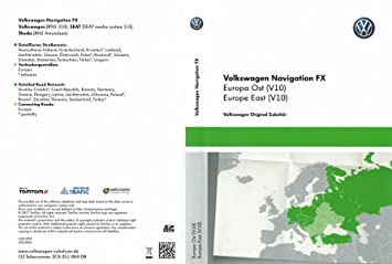 VW RNS 310 SAT NAV Update SD card V10 Eastern Europe: Amazon
