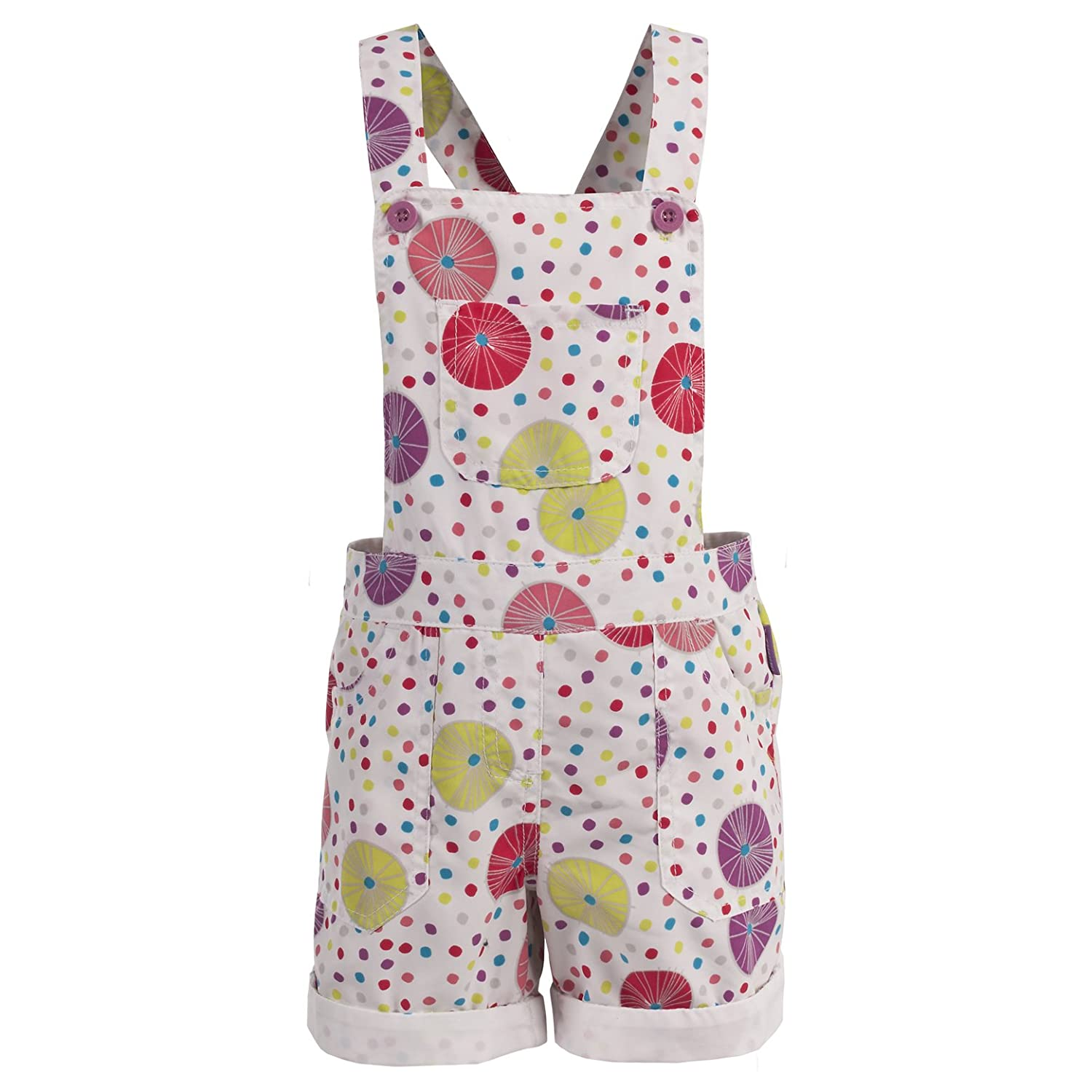 Trespass Girl's Joyous Short Dungarees