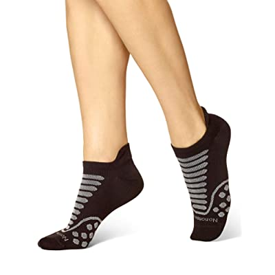 No nonsense Women's Mesh No Show Socks, Blister Free, Black, One Size (3-Pack) at Women's Clothing store