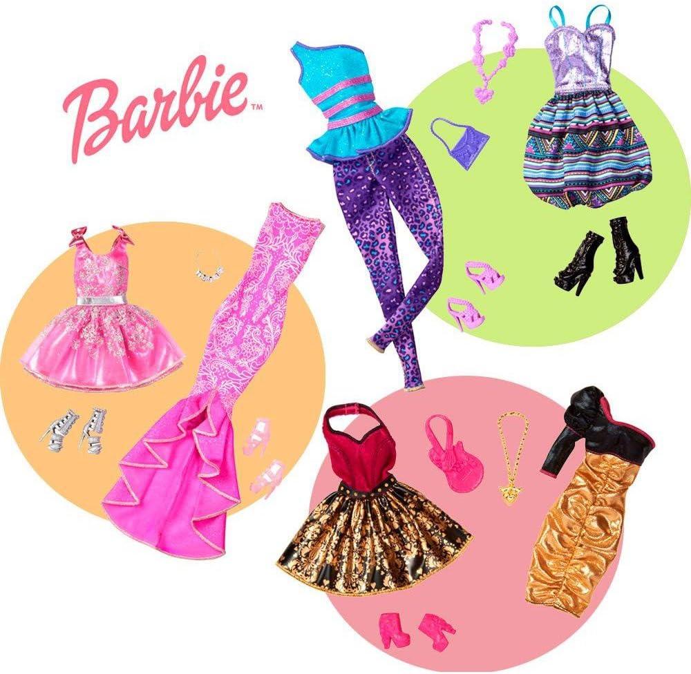 Amazon.es: BARBIE Pack moda FIN DE SEMANA: Juguetes y juegos