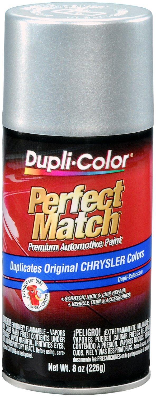 Dupli-Color EBCC0410 Bright Silver Metallic Chrysler Perfect Match Automotive Paint - 8 oz. Aerosol
