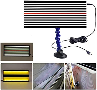 Reflector Board PDR Lamp Board Paintless Dent Repair Hail Removal Automotive Body Lamp Kit With 5m USB Line Cord Car Dent Repair Tool LED Light