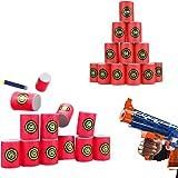 EVA Soft Bullet Target for NERF N-Strike Blasters Pack of 12pcs