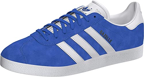 adidas gazelle bianche e blu