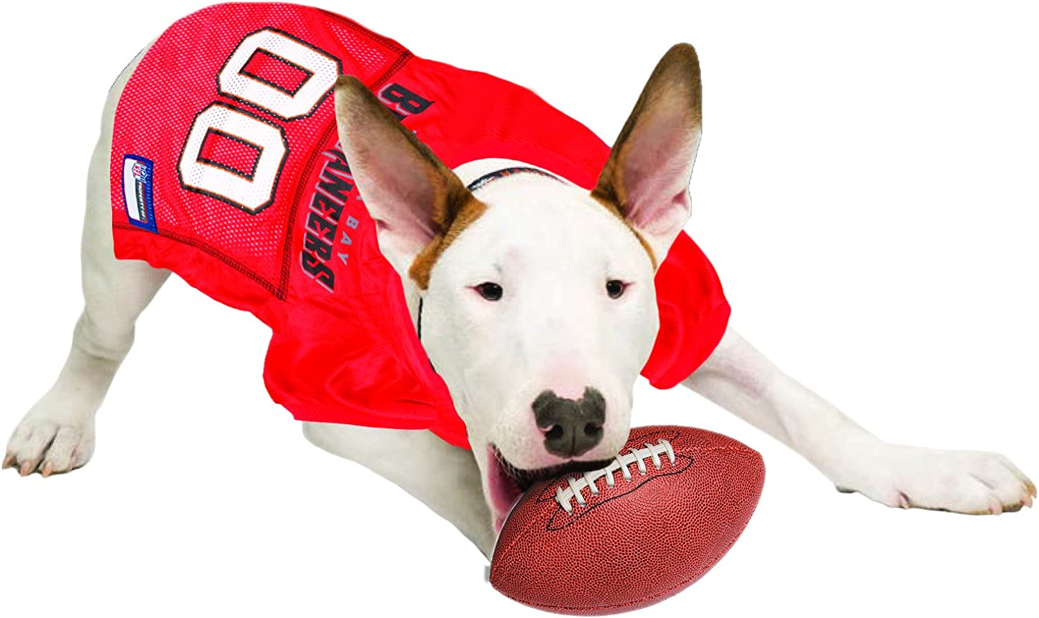 32 NFL Teams Available in 7 Sizes - Sports Mesh Jersey Football Jersey for Dogs Most Comfortable Football Licensed Dog Jersey Cats /& Animals Dog Outfit Shirt Apparel NFL PET Jersey