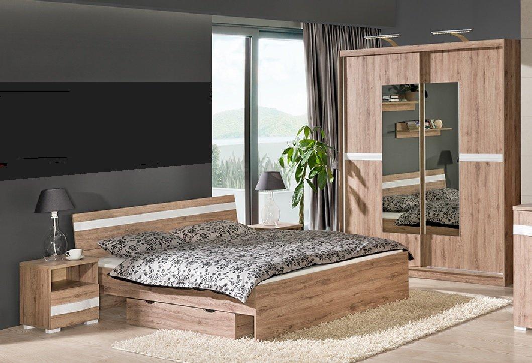 Schlafzimmer Set RAVENNA komplett 6-tlg. Schrank Bett ...
