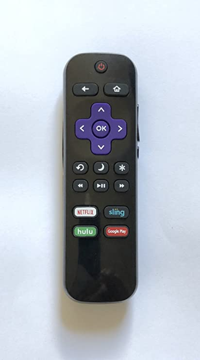 USBRMT New Insignia Replacement Remote Control NS-RCRUS-17 for Insignia  Roku TV with Netflix Sling hulu Google Play