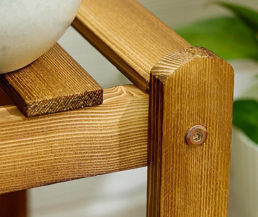 JXXQD Holzregal, Holzregal, Holzregal, original Holz-Multi-Layer-Outdoor-Indoor-Balkon Bonsaiboden Regal - Kombination (größe : 3 layers-33×28×90cm) 9b57fe