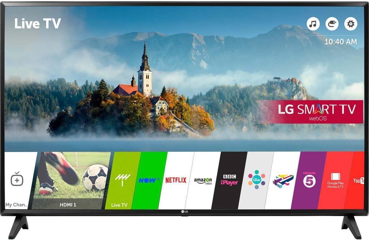 LG Electronics 43lj 43 Pulgadas HD 1080p led Inteligente de TV TDT Juego: Amazon.es: Electrónica