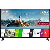 LG 43LJ 43 inch Smart LED TV 1080p HD Freeview Play - Black