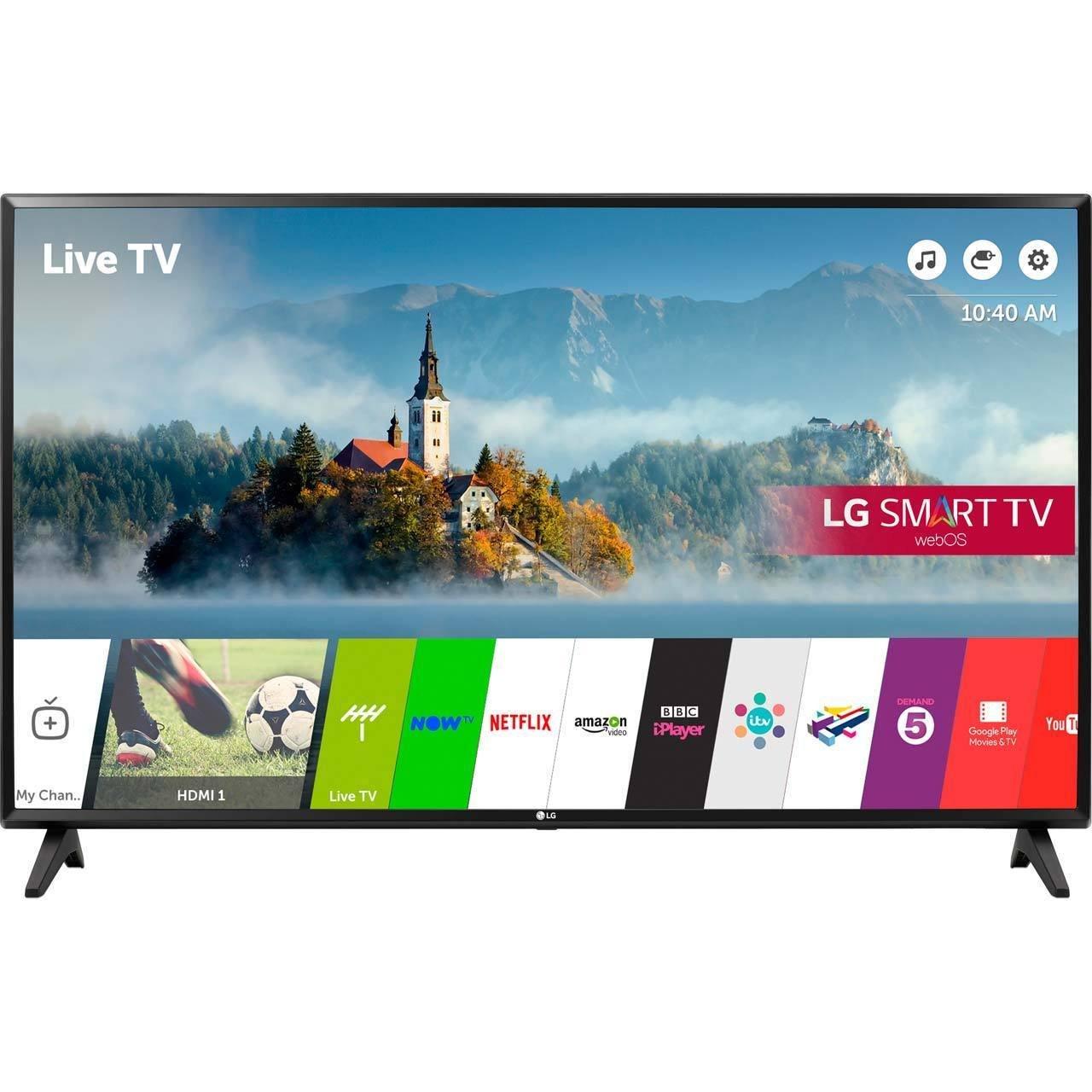LG Electronics 43lj 43 Pulgadas HD 1080p led Inteligente de TV TDT ...