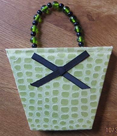 Note Pad Purse Green