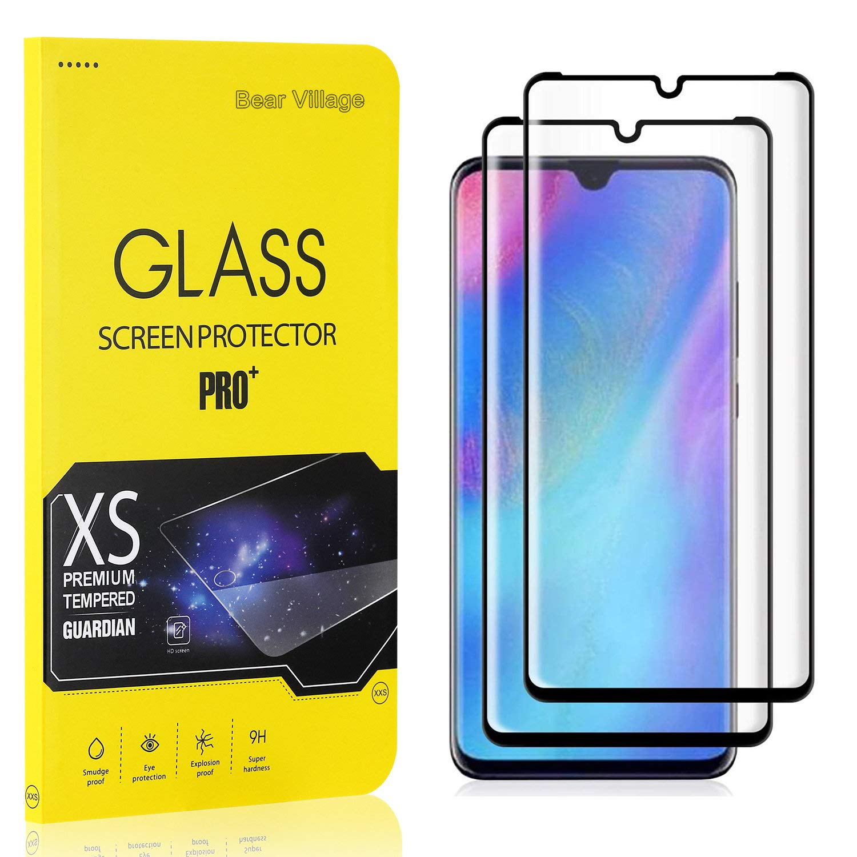 2 St/ück Anti /Öl Displayschutz Schutzfolie f/ür Huawei P30 Pro Bear Village 9H H/ärte Schutzfilm aus Geh/ärtetem Glas Displayschutzfolie Kompatibel mit Huawei P30 Pro