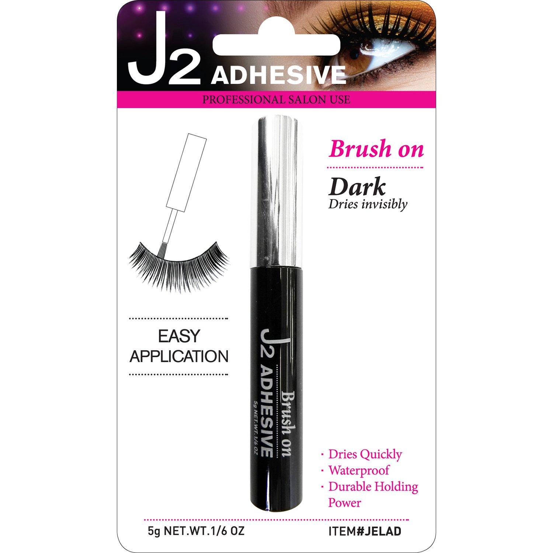 Amazon J2 Professional Salon Eyelash Adhesive Individual Dark