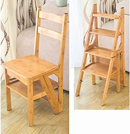 Incredible Amazon Com Lyjbt Solid Wood Step Stool 4 Step Climbing Unemploymentrelief Wooden Chair Designs For Living Room Unemploymentrelieforg
