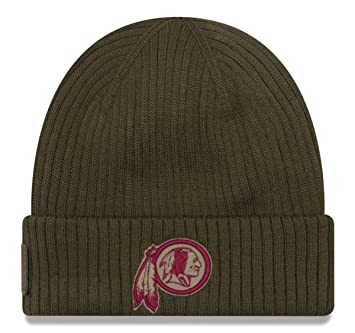 57895953879 New Era NFL Washington Redskins 2018 Salute to Service Sideline Knit ...