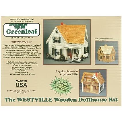 Amazon Com Greenleaf Dollhouse Kit Westville Arts Crafts Sewing