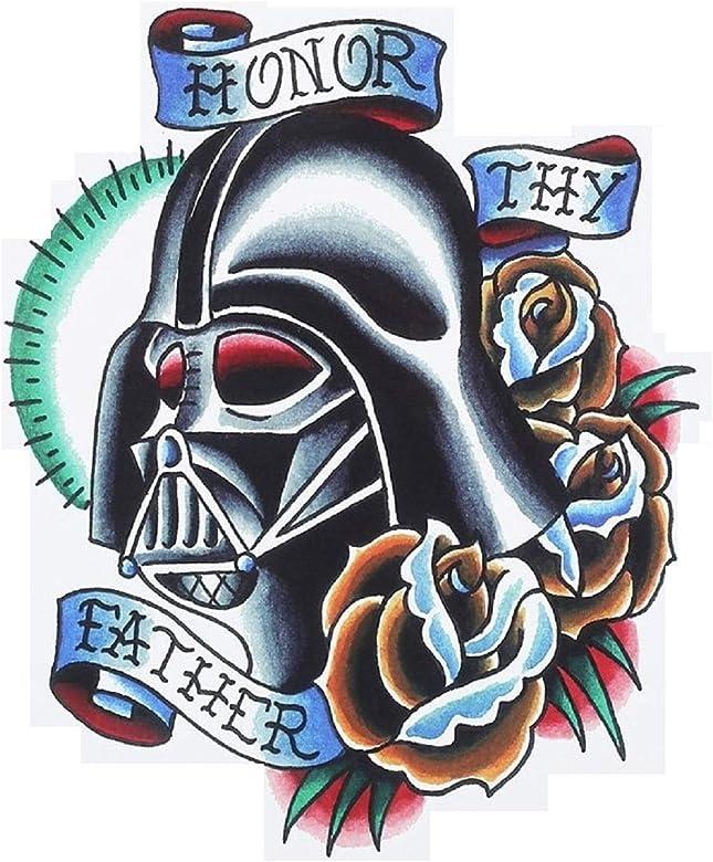Tatuajes brillantes y lentejuelas-provisionales Wars. Dark Star ...