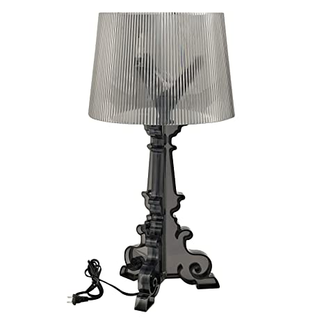 Amazon modway bourgie style acrylic table lamp in black home modway bourgie style acrylic table lamp in black aloadofball Image collections