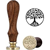 Tree Of Life Wax Seal Stamp, Yoption Vintage Retro Life Tree Wax Stamp Classic Seal Wax Stamp, Great for Embellishment of Cards Envelopes, Invitations, Wine Packages, Gift Idea (Tree Of Life)