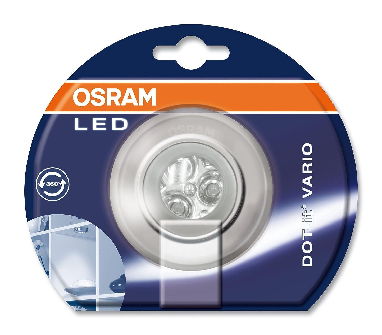 LED mobile luminaire: DOT-it/© Vario // 0.23 W 1pack 4.5 V White body material: polycarbonate beam angle: 80/° IP20