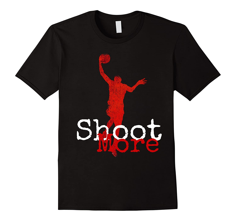 Basketball graphic t shirt designs shoot more t shirt art for Graphic t shirt designs