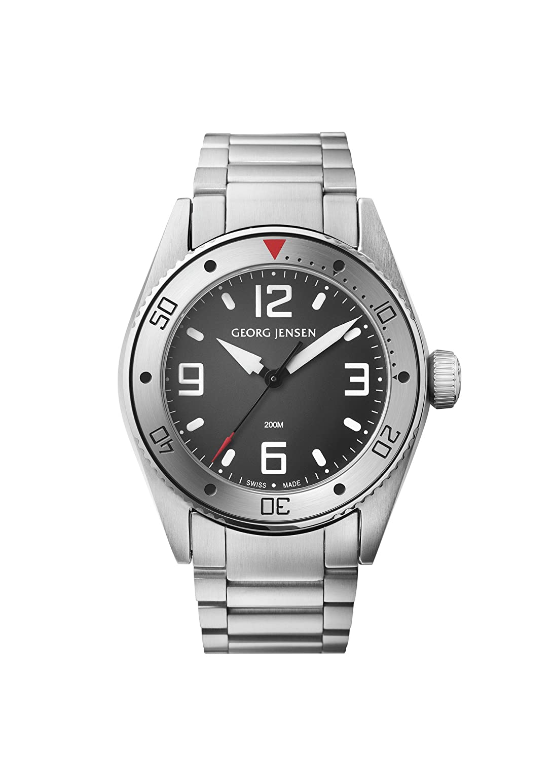Georg Jensen Herrenuhr der Superlative GMT Nummer 3575603 Delta Dive 42mm *UVP €950