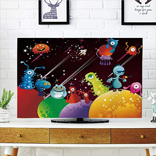 iPrint - Cubierta antipolvo para televisor LCD, divertida, regalo ...