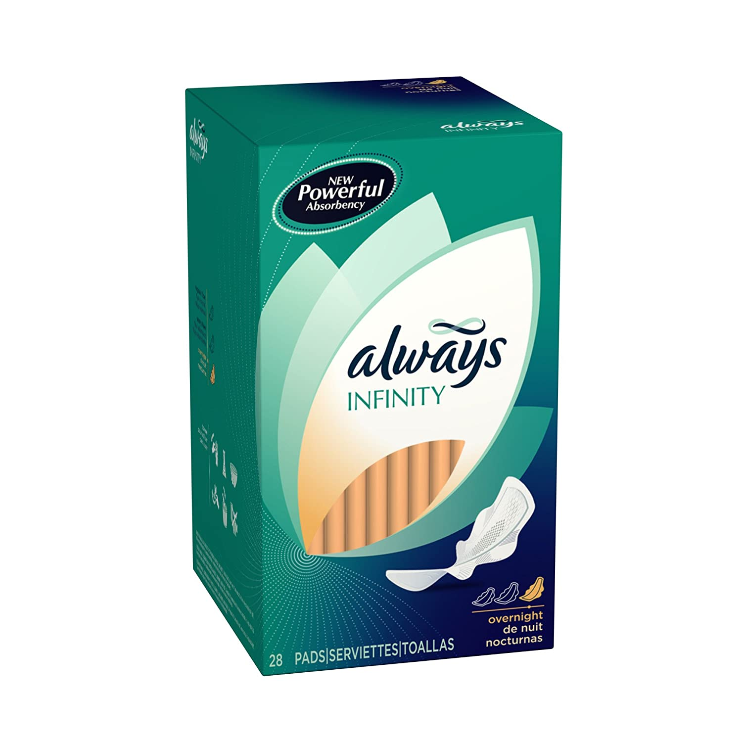 Amazon.com: Always Infinity, 28-count Boxes (Pack of 6): Health & Personal Care