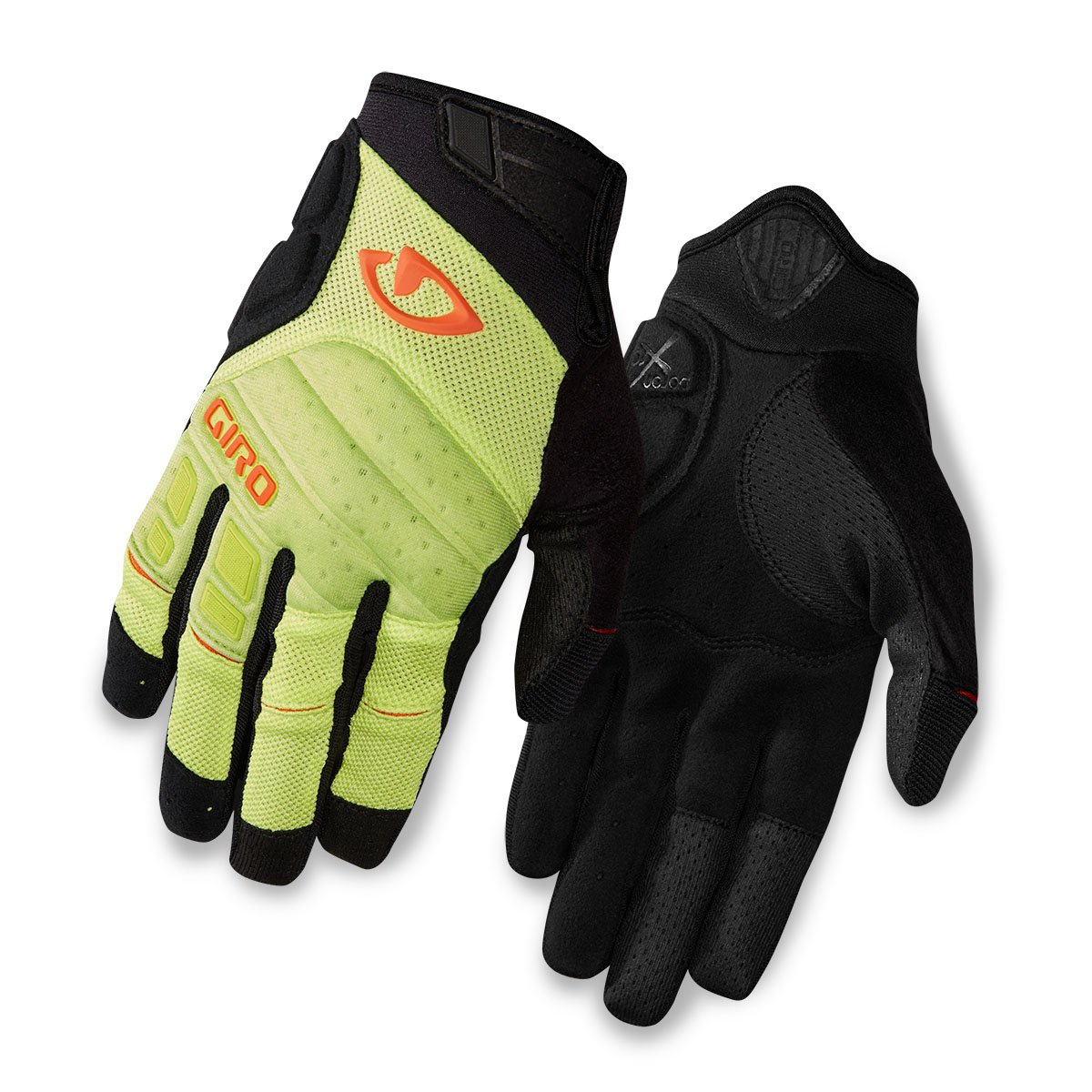 Giro Xen Fahrrad Handschuhe lang grün schwarz 2016